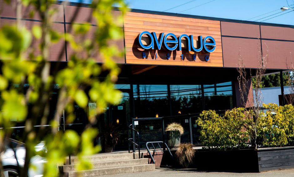 Avenue Bistro Courtenay Dining