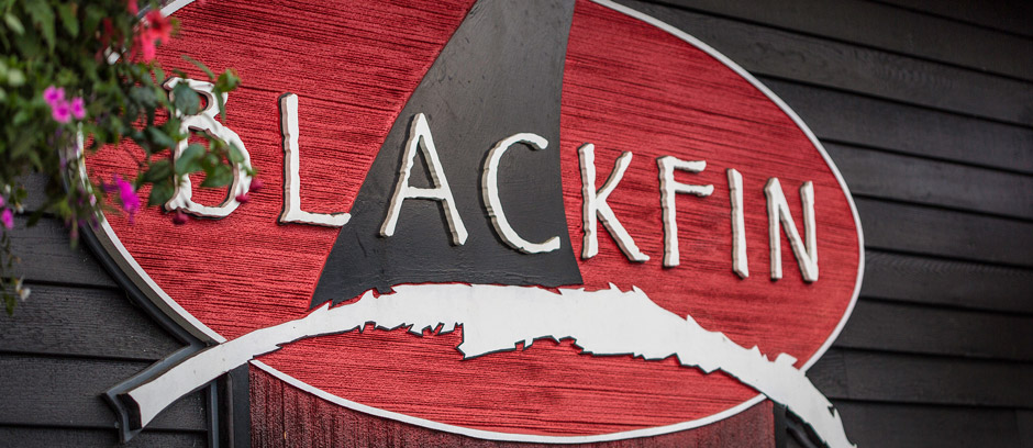 Black Fin Pub at Comox Harbour