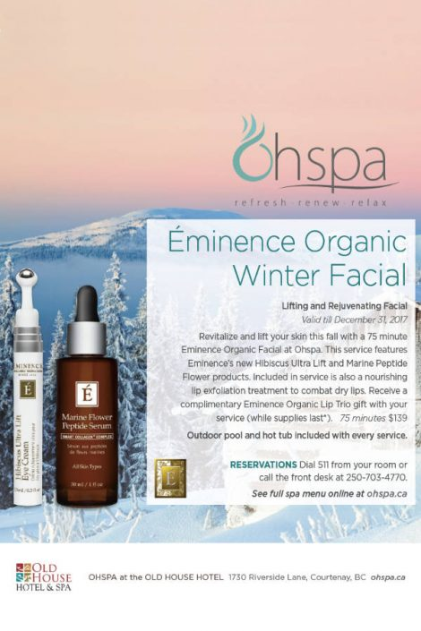 Éminence Organic Winter Facial