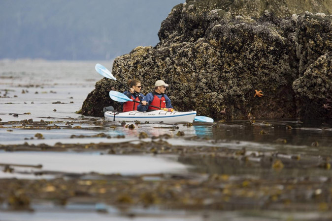 Vancouver Island Kayaking Kyuquot Tour Package